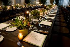 Potted Plants Wedding Centerpieces by Long Tablescape Centerpiece By In Any Event Ny Zama Pinterest