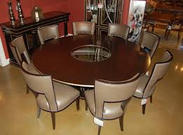 Round Dining Room Tables For 8 This Mid Century Modern Walnut Round Dining Table Is No Longer