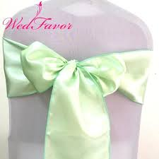 mint chair sashes mint green organza chair sashes voetbalxl