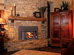 decoration ideas artistic black iron frame fireplace with brown