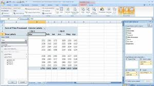 how to sort a pivot table how to sort a pivottable in excel 2007 excel 07 108 youtube