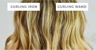 wanded hairstyles the difference between a curling wand and a curling iron
