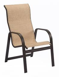 Stackable Sling Patio Chairs by Contemporary Kids Stacking Patio Chair Bedbathandbeyondcom
