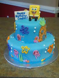 spongebob cake ideas spongebob birthday cake cakecentral