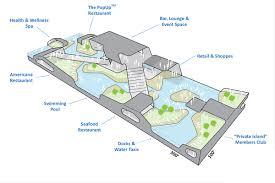 Navy Pier Map New Floating Island On Lake Michigan Ivy Magazine