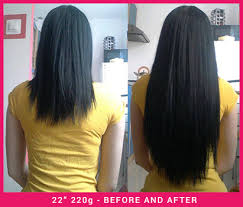 22 inch hair extensions before and after 100 human remy clip in hair extensions 22 inch 220g