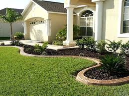 Garden Ideas For Small Front Yards - front yard landscape engrossing small landscaping ideas for rock