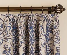 Curtains With Rings At Top Cafe Curtains Sheers Cuffed Contrast Heading Iron Rod Drapery
