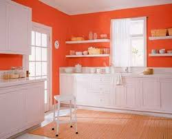 Orange Kitchens Ideas Orange Color Shades And Modern Interior Decorating Color