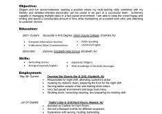 An Objective On A Resume Fashionable Ideas Do I Need An Objective On My Resume 3 Bartender