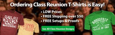 high school reunion banners class reunion custom t shirts high school reunion classb