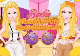 thanksgiving and kids barbie thanksgiving prep makeover u2013 best barbie dress up games for