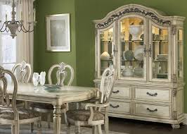 Hutch And Buffet by With Solids Hardwood And Antique Ivory Finish