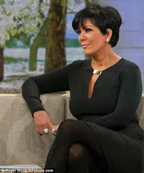 kris jenner haircut side view kris jenner s gma comment on kim kardashian s ring i hate an