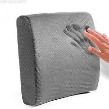 mousse pour siege auto portable en mousse à mémoire coussin lombaire coussin de soutien