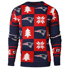 new patriots patches nfl crew neck sweater by forever