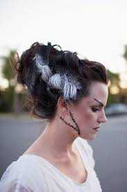 Diy Halloween Makeup Ideas Best 25 Bride Of Frankenstein Makeup Ideas On Pinterest Bride