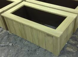 wooden planters plans ana white cedar planters for less than 20