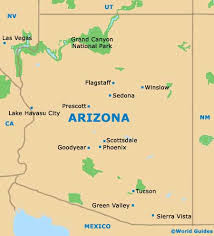 map of the united states with arizona highlighted arizona on us map uptowncritters sedona maps and orientation