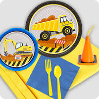 construction party supplies construction birthday party ideas decorations and supplies