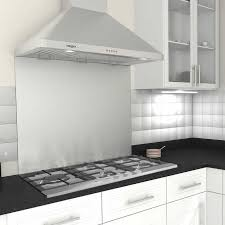 Ancona Stainless Steel Backsplash - Stainless steel backsplash