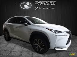 lexus nx f sport black 2017 ultra white lexus nx 200t f sport awd 119602591 gtcarlot