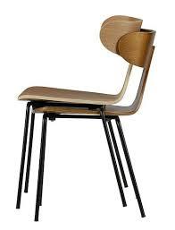 Si E De Tolles Design Holzstuhl De Eekhoorn Zum Stapeln Eine Große