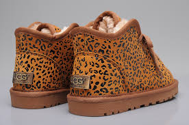 ugg womens casual shoes ugg 5986 casual boots leopard ugg xz10160173 108 00