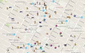 Map Pattern This Map Can Show The Exact Location Of Every Pokémon Around You