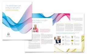 bi fold brochure template word csoforum info