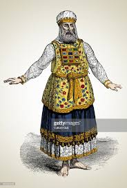 high priest costume high priest of israel pictures getty images