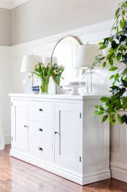 Kitchen Buffet Cabinets Best 25 White Sideboard Ideas On Pinterest Living Room Plants