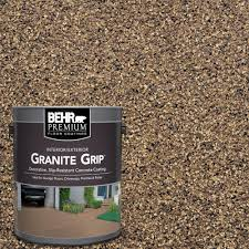 Patio Paint Concrete by Behr Premium 1 Gal Gg 16 Baltic Stone Decorative Concrete Floor
