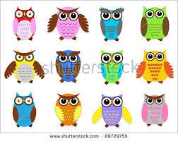 owl cartoon vector characters download free vector art stock