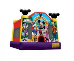 mickey mouse clubhouse bounce house party rental mickey mouse bounce house renting inflatables