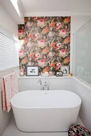 Wallpaper Ideas For Small Bathroom Small Bathroom Wallpaper Ideas Bathroom Design And Shower Ideas