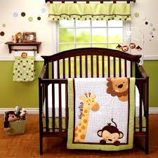 Jungle Themed Nursery Bedding Sets by Amazon Com Little Bedding 3 Piece Comforter Set Jungle Pals
