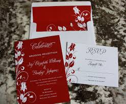 wedding reception invitations white roses wedding reception invitations save the dates