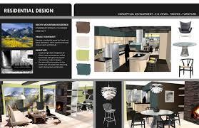 Portfolio Interior Design Student Portfolio Sample Pages By Jennifer Bussey Via Behance