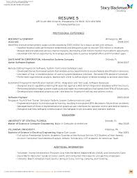 Applicant Resume Example by Creating A Resume For Mba Applications