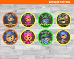 umizoomi cake toppers team umizoomi topper etsy