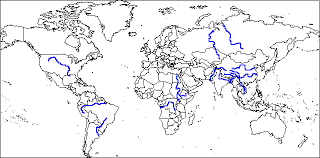 world rivers map physical geography where live and why