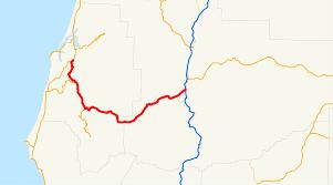 Roseburg Oregon Map by Oregon Route 42 Wikipedia