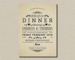 rehearsal dinner invitation template rehearsal dinner invitation