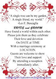 Wedding Ceremony Quotes Wedding Invitations Verses And Quotes 8626