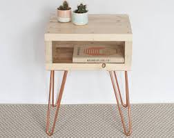 Bedside Tables Bedside Table Etsy