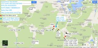 Hash Map Hangzhou Hash House Harriers 2014 October