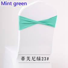 spandex sashes colour mint green spandex sashes lycra sash for chair cover