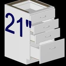 Inch Kitchen Base D Model - 21 inch white base cabinet