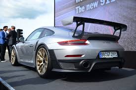 new porsche 2018 2018 porsche 911 gt2 rs revealed at goodwood report news today